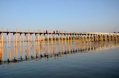 U-Bein Bridge Stock Photos