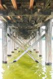 U Bein bridge in Myanmar Stock Photo