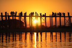U bein bridge Stock Photography