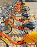 U Bike, a Bicycle share program in Taipei Royalty Free Stock Photos