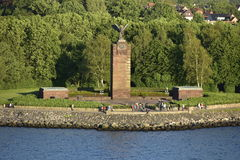The U-Boot-Ehrenmal Möltenort in Heikendorf near Kiel, Germany Stock Images