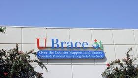 U Brace It OTC Support and Braces Stock Image