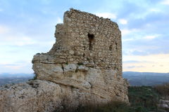 U castiddrazzu. A old castle in sicily, Naro(AG Stock Images