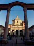 u. x22; Colonne-Di San Lorenzo u. x22; Mailand Stockfoto