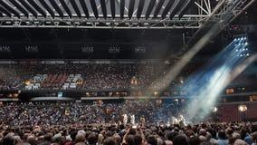 U2 Concert  Royalty Free Stock Photos
