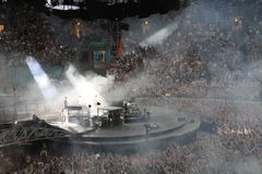 U2 in Concert Royalty Free Stock Images