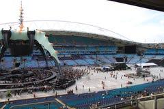 U2 in Concert Stock Image