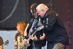 U.D.O. auf Metalfest 2013 Lizenzfreie Stockfotografie