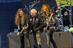 U.D.O. auf Metalfest 2013 Lizenzfreies Stockfoto