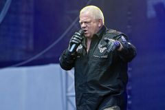U.D.O. sur Metalfest 2013 Photo stock