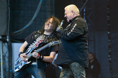 U.D.O. sur Metalfest 2013 Photographie stock