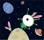 U.F.O. Easter, vector Royalty Free Stock Photo