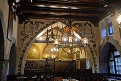 U Fleku Beerhouse, Praag, Tsjechische Republiek stock foto