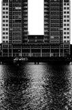 U-formig arkitektur royaltyfri bild