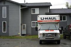 U-Haul Truck Stock Images