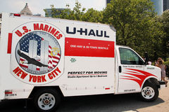 U-Haul Van Royalty Free Stock Photography