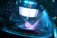 U2 im Konzert Stockfotografie