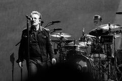 2017 U2 Joshua Tree World Tour-30th Anniversary. 30th Anniversary world reunion of mega-rock band U2`s Joshua Tree album at East Rutherford New Jersey on June 28 royalty free stock photo