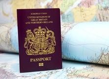 U K护照 库存图片