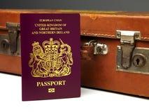 U.K Passport Stock Photos