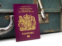 U K paszport Zdjęcia Stock