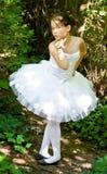 U kunt een ballerina zijn Royalty-vrije Stock Foto
