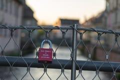 U-lås Fotografering för Bildbyråer