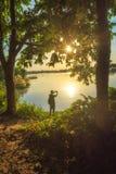 u. x22; Letzte Sonnenstrahlen des day& x22; stockbild