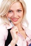 uśmiech biznesowej kobieta Zdjęcie Royalty Free