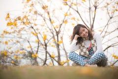 Uśmiech dziewczyna Zdjęcia Royalty Free