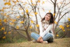 Uśmiech dziewczyna Obrazy Royalty Free