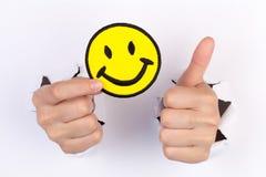 Uśmiech jest dobry Zdjęcia Stock