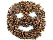 Uśmiech kawa Fotografia Stock