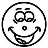 Uśmiech twarz zdjęcie stock