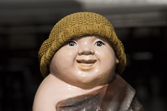 Uśmiechu michaelita statua Obraz Royalty Free