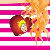 U in mijn hart Stock Foto's