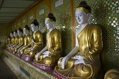 U Min Thonze Buddhist Temple On Sagaing Hill Royalty Free Stock Photo
