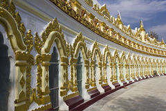 U Min Thonze Buddhist Temple On Sagaing Hill Royalty Free Stock Image