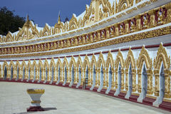 U Min Thonze Cave - Sagaing - Myanmar (Burma) Royalty Free Stock Photography