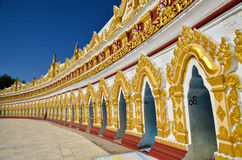 U Min Thonze Pagoda Royalty Free Stock Photos