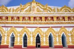 U min Thonze pagoda in Myanmar Stock Photos