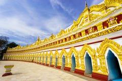 U min Thonze pagoda,Sagaing, Myanmar Royalty Free Stock Photo