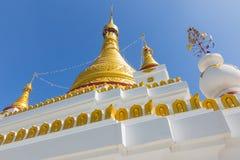 U min Thonze pagode, Sagaing, Myanmar Royalty-vrije Stock Fotografie