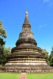 U-Mong寺庙,泰国美好的建筑学  库存照片