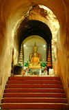 U-mong temple. Chiang mai, thailand Stock Images