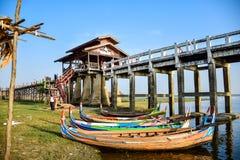 U most Bein, Myanmar Zdjęcie Royalty Free