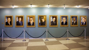 U.N. Secretaria Generals Fotografía de archivo libre de regalías