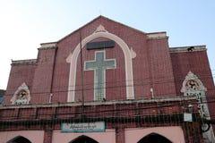 U Naw Baptist Church commémoratif est l'une des églises chrétiennes les plus anciennes à Yangon, Myanmar photos stock