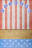 U. papel de S.A. Flag Fotografía de archivo