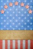 U. papel de S.A. Flag Foto de archivo libre de regalías